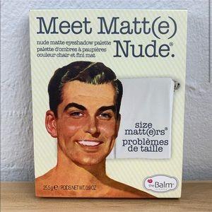 THE BALM Meet Matte(e) Nude Eyeshadow Palette